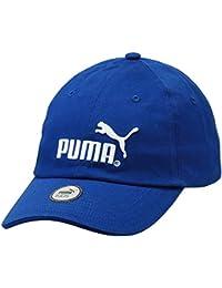 2c5e26f03df Puma Essential Peacoat-No1 Logo KIDS Children s Red Baseball Cap