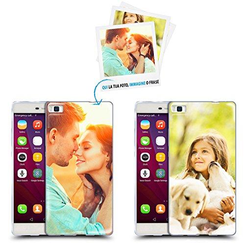 Anukku custodia cover air gel ultra sottile personalizzata con la tua foto, immagine o scritta per huawei p9 lite stampa di qualità fotografica con mimaki