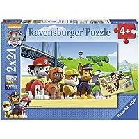 Ravensburger 9064 - Lot de 2 Puzzles - Chien Héroïque Pat Patrouille - 24 Pièces
