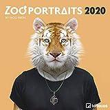 Zoo Portraits 2020 Square Wall Calendar