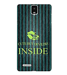 Fuson Designer Back Case Cover for Infocus M330 ( Love Quotes Inspiration Emotion Care Fun Funny )