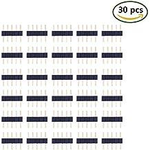 LitaElek 5pin macho a macho LED cinta conector sin soldadura 5-conductor LED cinta LED cuerda luz controlador adaptador de conector enchufe para SMD 5050RGBW RGBWW LED tira luces (30piezas)