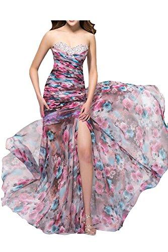 TOSKANA BRAUT - Robe - Trapèze - Femme Multicolore - Modell C