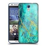 Head Case Designs Wasserfarbe Marmor Glitzer Druecke Ruckseite Hülle für HTC Desire 620/620 Dual SIM