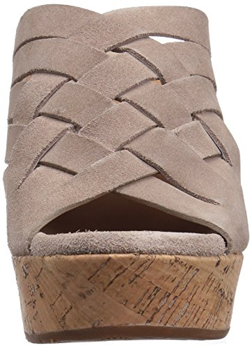Ugg Womens Shoes - Wedge-pantolette Marta 1015079 - Horchata Nero