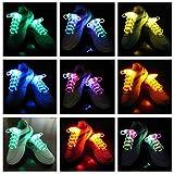 LED Schnürsenkel Flash-Light Glow Stick Gurt Faser Rave Party Nylon Schnürsenkel Wasserdicht Saiten