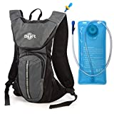 hydrogo einen Hydration Rucksack & 2L Wasser Trinkblase–Die BTR Trinkrucksack Hydration Pack mit eine Blase Tasche ist ein Wasserdichter Running Rucksack ideal für Outdoor Sports. IT 'S A Mountain Bike Rucksack oder ein Running Rucksack–Drink und Go.