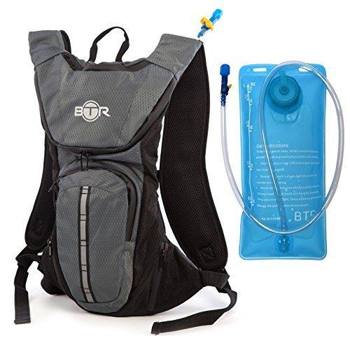 hydrogo einen Hydration Rucksack & 2L Wasser Trinkblase-Die BTR Trinkrucksack Hydration Pack mit eine Blase Tasche ist ein Wasserdichter Running Rucksack ideal für Outdoor Sports. IT \'S A Mountain Bike Rucksack oder ein Running Rucksack-Drink und Go.