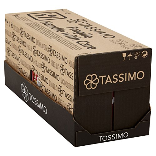Tassimo Costa Latte Coffee Pods (Pack of 5, Total 80 pods, 40 servings)