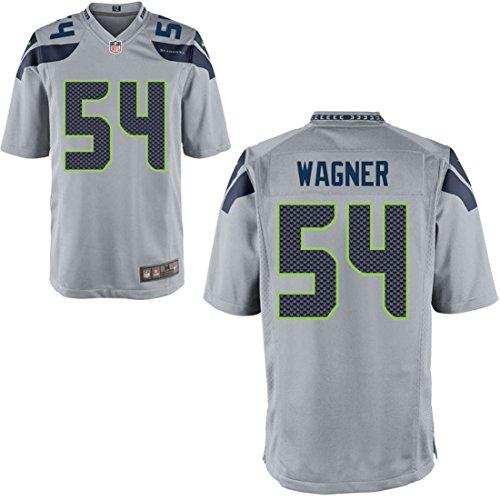Preisvergleich Produktbild 54 Bobby Wagner Trikot Seattle Seahawks Jersey American Football Shirt Mens Grey Size M(40)