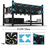 Provided two choice: Classic or Deluxe version, Deluxe version have Added horizontal reinforcement beams for fans, Choose this version if you use HIGH-SPEED fans.  Features: 1. Brand new Classic 6GPU Aluminum Alloy material body 2. 6 GPU Premium mode...