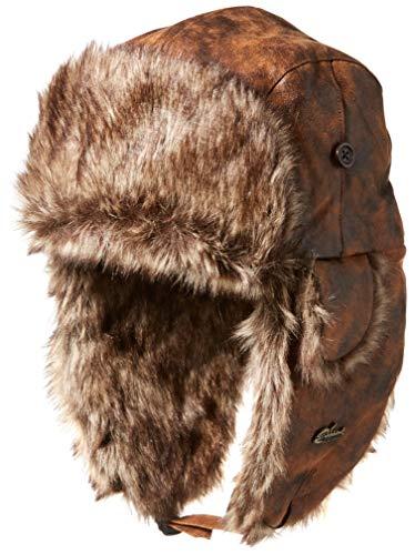 Screamer Unisex Fifth Avenue Trapper, Bronze, One Size