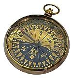Brass Nautical Antique Compass Replica Pocket Brasspocket Watch Compass Brass Antique by Brass Nautical