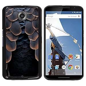 Schutzhülle aus Kunststoff,; Motorola Nexus 6x/Moto X/Pro || Raven Schwarz Halloween @ xptech