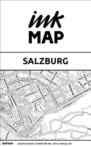 Inkmap Salzburg - Karten für eReader, Sehenswürdigkeiten, Kultur, Ausgehen (German)