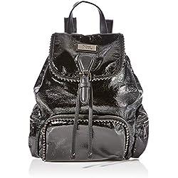 XTI 86133, Bolso mochila para Mujer, (Negro), 23x30x12 cm (W x H x L)