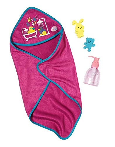 Baby Born 822487 Bathing Accessory Set, Multicoloured