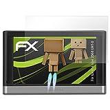 atFoliX Displayschutz für Garmin Nüvi 2568 LMT-D Spiegelfolie - FX-Mirror Folie mit Spiegeleffekt