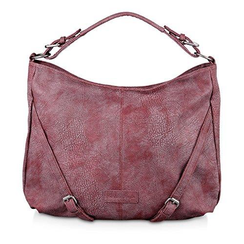 Fritzi aus Preußen Elke 2D Shopper Tasche 44 cm inka red