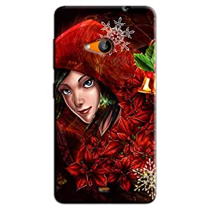 CLOWN GIRL BACK COVER FOR MICROSOFT LUMIA 540