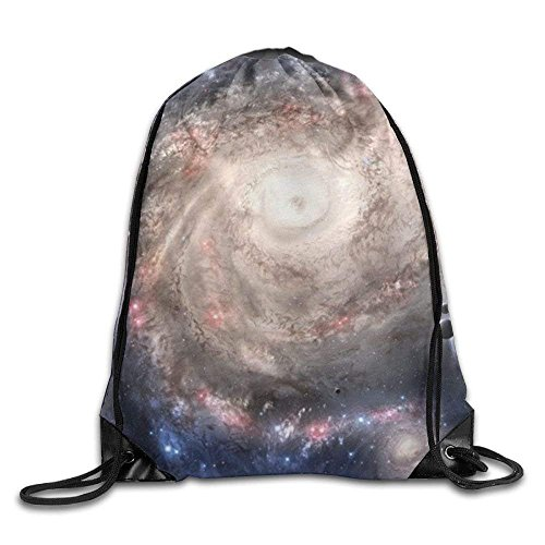 Galaxy Womens Rucksack (Etryrt Prämie Turnbeutel/Sportbeutel, Galaxy Drawstring Backpack Rucksack Shoulder Bags Training Gym Sack for Man and Women)