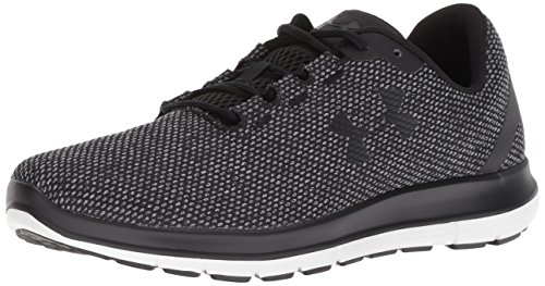 Under Armour Remix, Running Homme, Noir Steel/Black 001, 45 EU