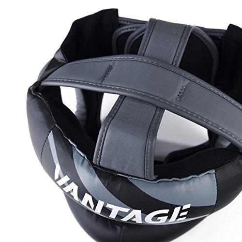 Vantage Kopfschutz Combat Face Saver mit Bügel Kopfschutz MMA Boxen Kickboxen Muay Thai Abbildung 2