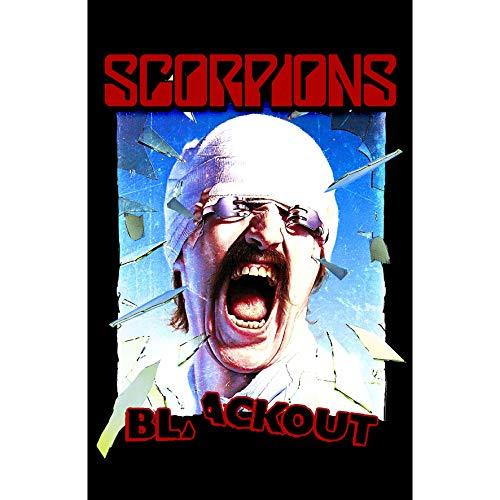 Scorpions Flagge Fahne POSTERFLAGGE Blackout -