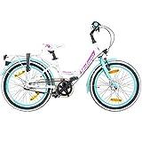 20 Zoll Kinderfahrrad Galano Blossom Mädchenrad Jugendrad Cityrad