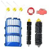 efluky Kit cepillos repuestos de Accesorios para iRobot Roomba Serie 600 -un conjunto de 10