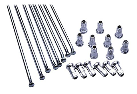 Excel XS8-15197 19 Replacement Spoke and Nipple Kit by Excel