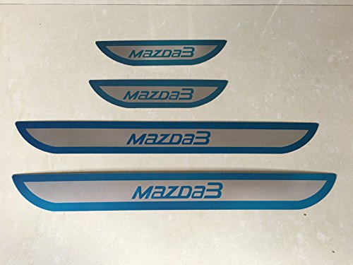 kool-parts-mazda-3-stainless-steel-door-sill-guard-protectors-for-2014-2015-2016-years