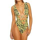 ZODOF Traje de baño de Mujer, Traje de baño de Mujer Conjunto de Bikini Talla Grande Sujetador Push-up Acolchado Traje de baño