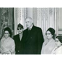 Vintage Foto Di Charles de Gaulle con