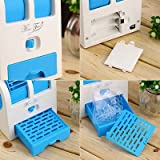 Mini Small Fan Cooling Portable Desktop Dual Bladeless Air Conditioner USB
