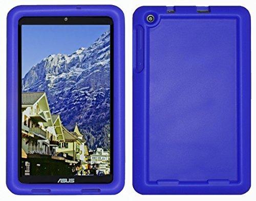Bobj Silikon-Hulle Heavy Duty Tasche fur ASUS MeMO Pad 8 Tablette (ME181C, ME181CX, K011, MG8, MG181C, MG181CX) und ASUS VivoTab 8 (M81C, K01G) - BobjGear Schutzhulle (Blau)