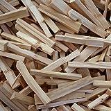 FunkyBuys 10 kg de Madera para encender Fuego, Ideal para chimeneas Abiertas para carbón, Bolsas de leña para Caldera
