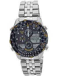 Citizen Analog-Digital Black Dial Men's Watch - JN0040-58L