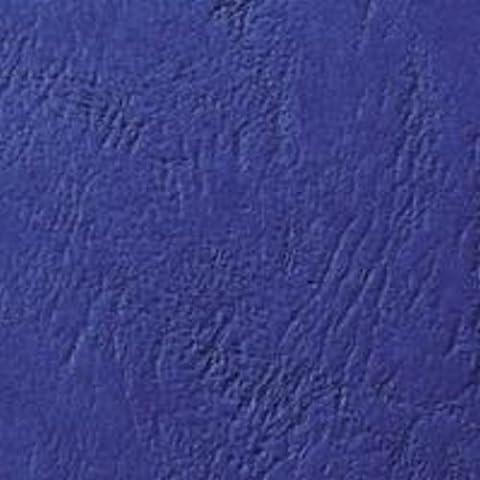 GBC A4 250 cartón cuero Ventana GSM Carcasas Encuadernación - Azul