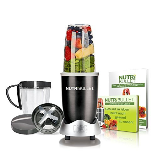 NutriBullet NB8SW Set de extractor de nutrientes negro