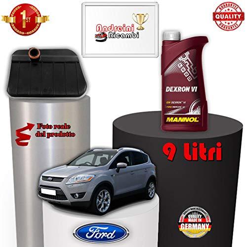 TAGLIANDO CAMBIO AUTOMATICO E OLIO KUGA 2.5 147KW 2012 -> /1088