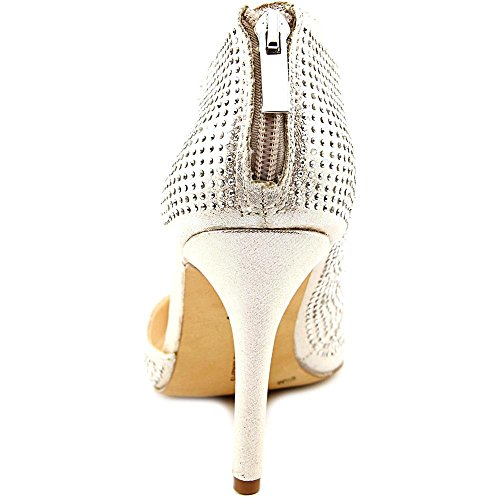 INC International Concepts Zizi Femmes Synthétique Talons Pearl Gold