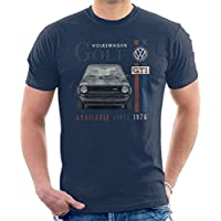 Official Volkswagen Volkswagen Golf GTI Racing Distressed Men'S T-Shirt
