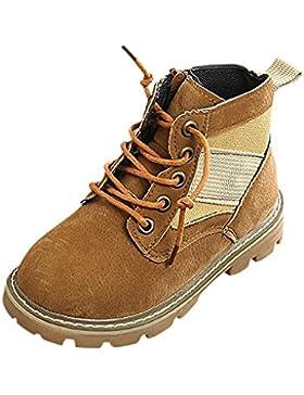 Trada Kinder Winterstiefel Warm Martin Stiefel Jungen Mädchen Weicher Boden Stiefel Sneaker Stiefel Kinder British...