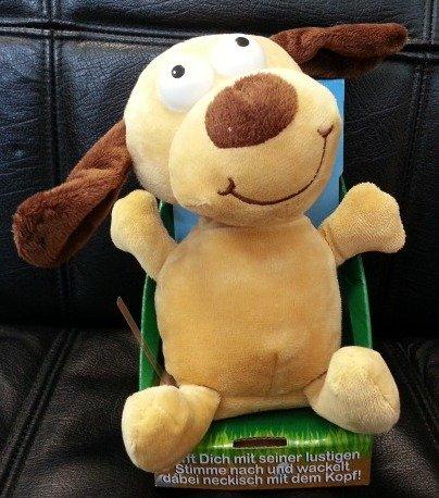 Preisvergleich Produktbild Kögler 75570 - Laber - Hund, der alles nachplappert - Plüsch