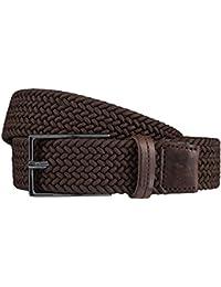 STRELLSON Belt ceinture hommes ceinture de tressé marron