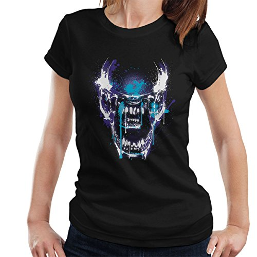 Aliens Close Encounter Women's T-Shirt Black