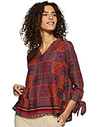 global desi Women's Regular fit Top