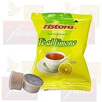 Cialde Capsule Ristora Tè al limone Compatibili LAVAZZA Espresso Point - Confezione da 50 Capsule - Lavazza Espresso Point Capsula Macchina