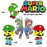 Super heroes Marvel Avengers minis figuren - Mini de figur de Anteil - konstruktionsspielzeug - Mario Luigi Yoshi - Super heroes Super mario Minifiguren Mario Luigi Yoshi- von channeltoys